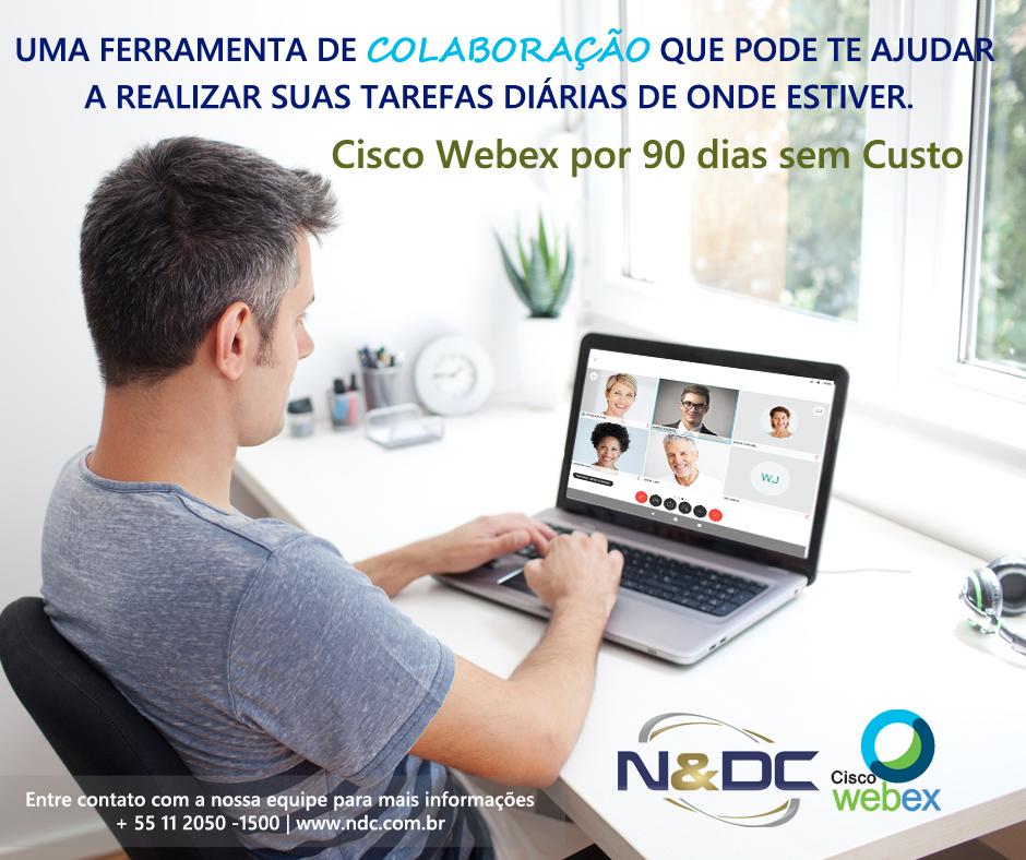 Cisco Webex sem custo