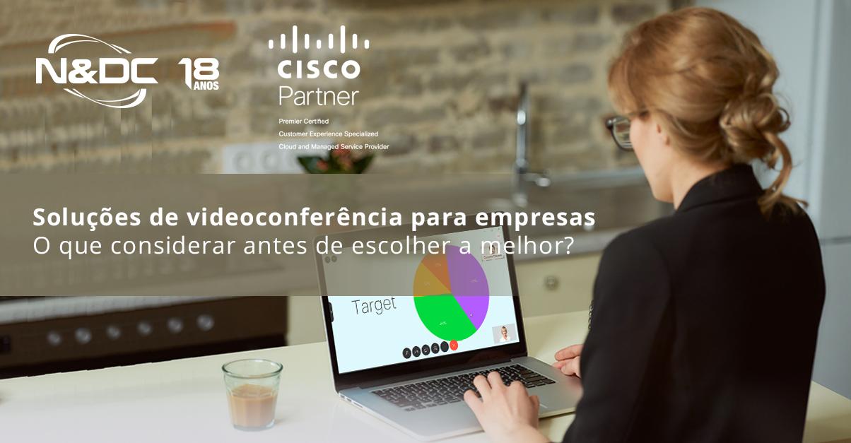 Soluções de videoconferência para empresas: o que considerar antes de escolher a melhor?